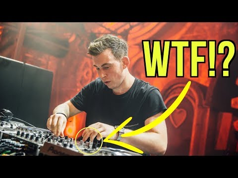 HARDWELL'S SECRET DJ TRICK EXPOSED (2019)