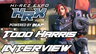 HRX 2018: Paladins Interview w/Todd Harris