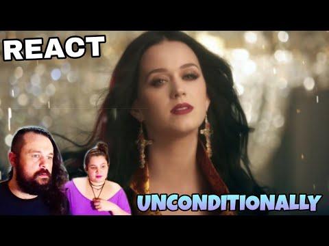 REAGINDO: KATY PERRY - UNCONDITIONALLY REACTING