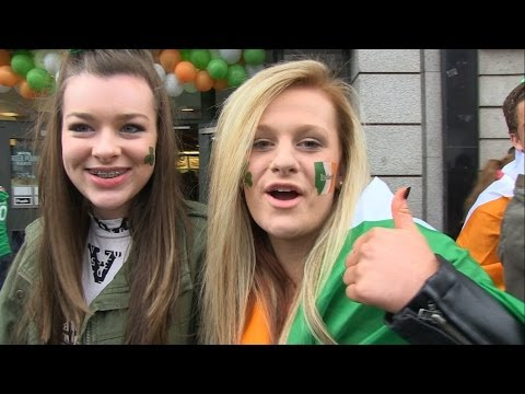 Why Dublin, Ireland is the best place in the world to celebrate St. Patrick's Day! Parade 2014.