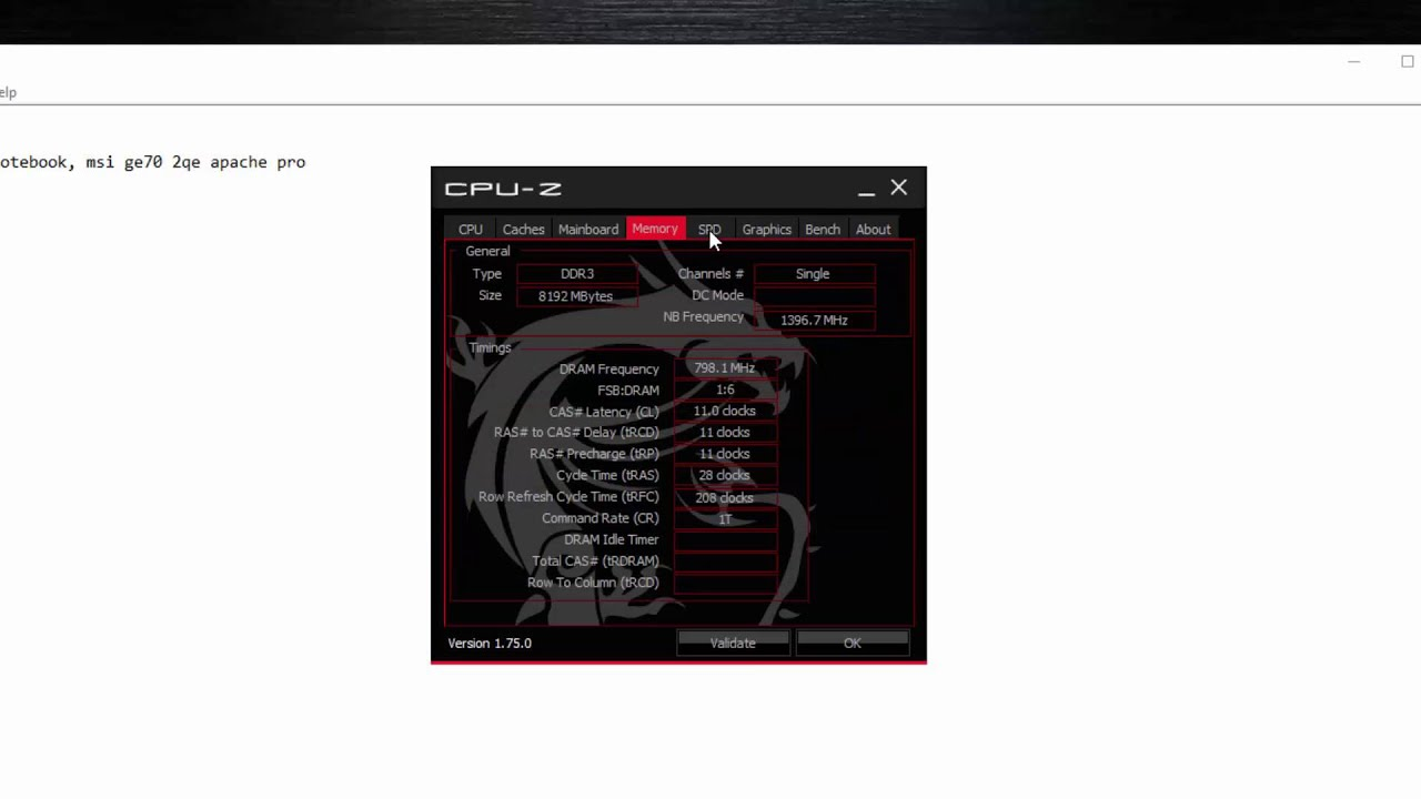 Msi Ge70 2qe Apache Pro Gaming Notebook Specs Youtube