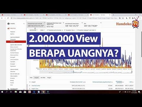 Berapa View Untuk Mendapatkan Hampir 100 Juta di YouTube  Pengalaman  Motivasi Nyata YouTuber