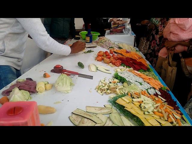 Amazing Vegetables Cutter, Dhaka International Trade Fair 2018.