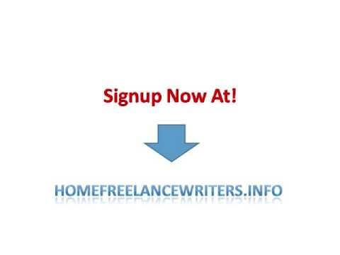 Freelance Home Writers