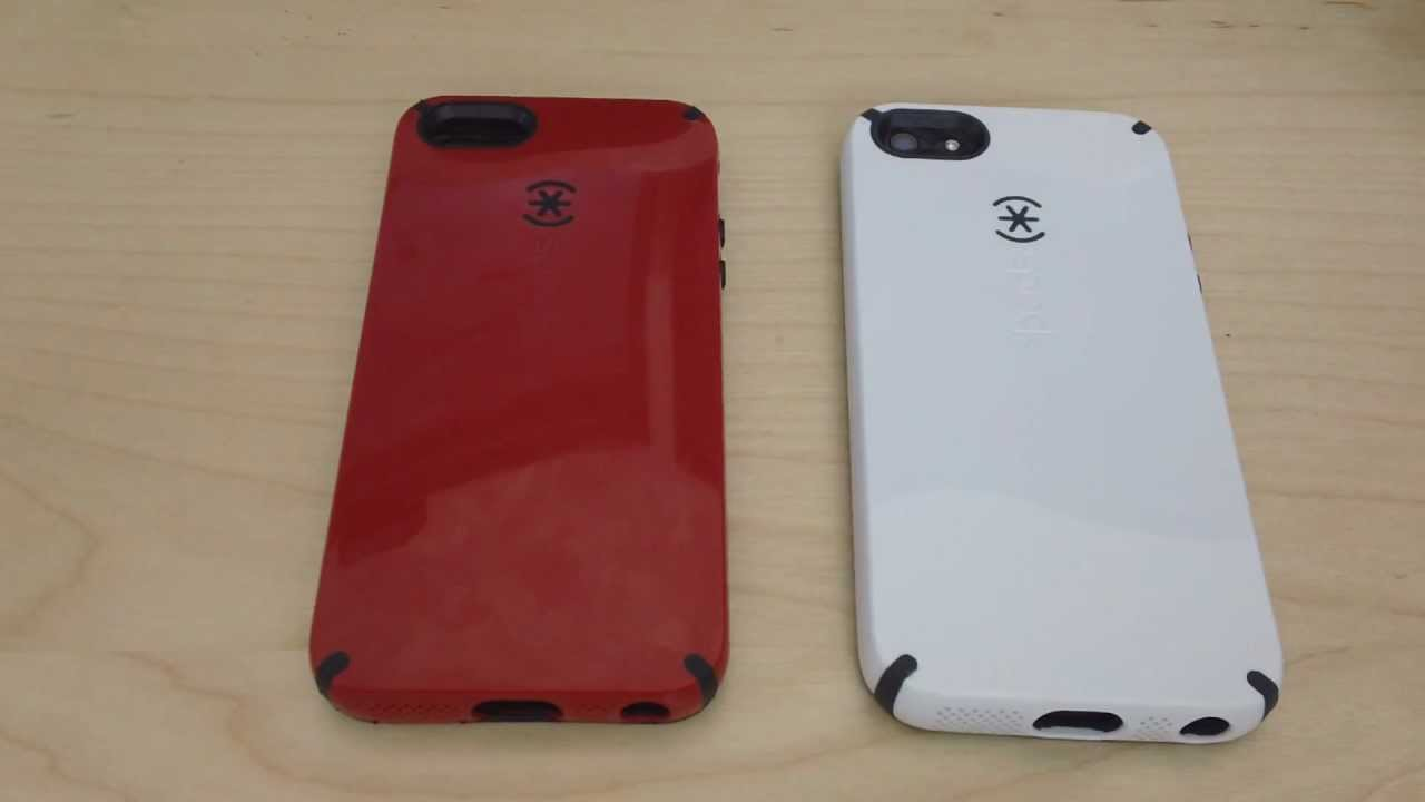 purchase cheap fe73b 7bfaa Speck Candyshell iPhone 5 Review Unboxing Red & White AT&T
