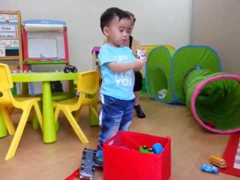 My nephew loves pre-school playgroup class