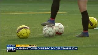 Professional soccer team coming to Madison
