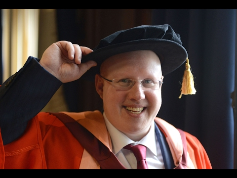 BBC report on Matt Lucas receiving honorary degree
