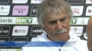 Palermo - Pescara 3-0: Giuseppe Pillon