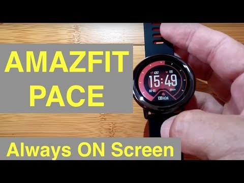 XIAOMI AMAZFIT PACE TransReflective Fitness Smartwatch: Unboxing and 1st Look [English Only]