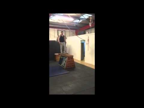 Evolve athlete Tom Redern 10 Foot Precision Jump