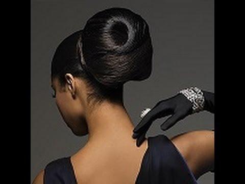Bun Hair Style For Black Women Fashionable Puff Hair Style Youtube