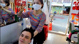 ASMR Relaxing Vietnamese Face and Head Massage