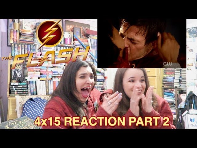 THE FLASH 4X15 ENTER FLASHTIME REACTION PART 2