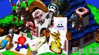Súper Mario rpg muchos jefes