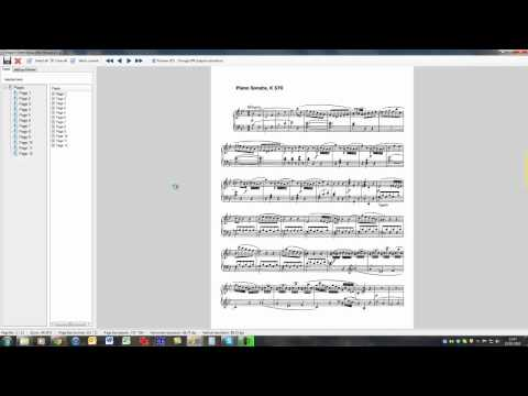 1 minute guide to adding sheet music from PDF