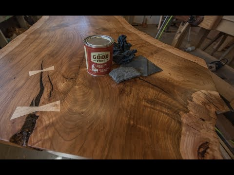 Woodworking, How To Build A Live Edge Table Pt 5, Finishing