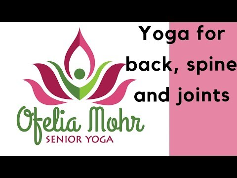 SENIOR HATHA YOGA.  Yoga for back, spine and joints - full class