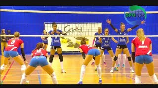 Hungarian women's volleyball league | march 2018 | 🏐 slow mo highlights | ᴴᴰ