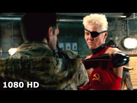 Маза Раша с командой нападают на Капитана | Пипец 2 (2013)