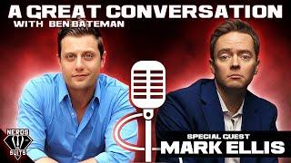 Mark Ellis talks standup at home, The Schmoedown and Van Halen - A Great Conversation #15