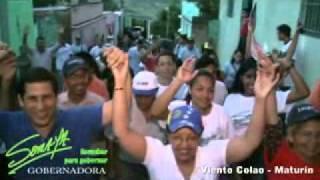 SORAYA HERNANDEZ GOBERNADORA DE MONAGAS - VISITA VIENTO COLAO