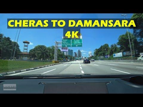 (2019)Driving in Malaysia (4K) - Cheras to Damansara   Peugeot 508 1.6thp Premium