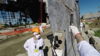 Radiation shielding for workers at the Chernobyl New Safe Confinement