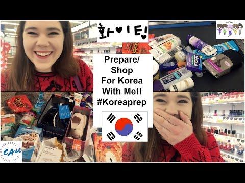 Prepare/Shop for Korea with me!!!