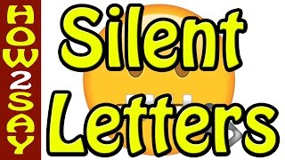 Silent letters - silent letters in English - Don't do this! Common English mistakes