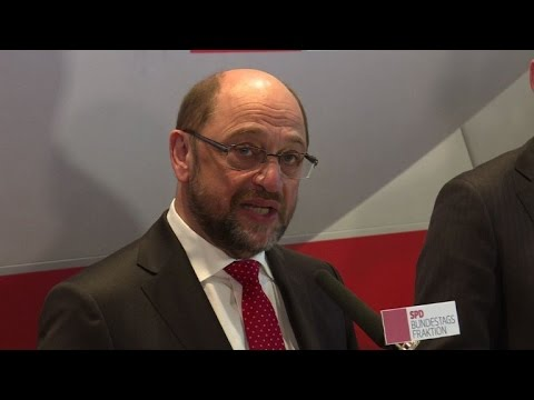 Germany's SPD welcomes Schulz nomination