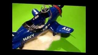 Avion à Pédales Corsair // Corsair Pedal Plane