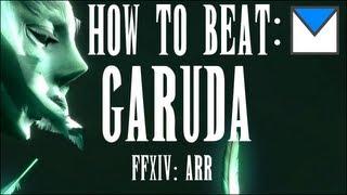 FFXIV Garuda Boss Strategy [Howling Eye : Story Mode]