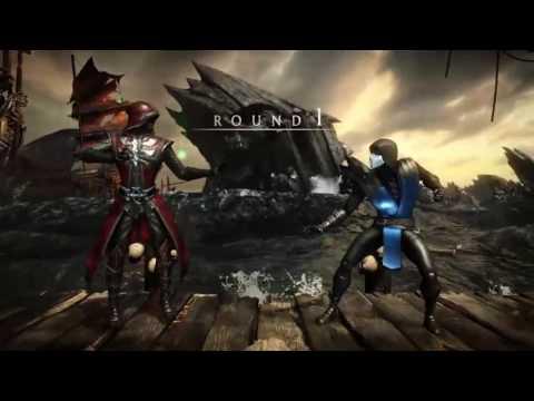 Online MKXL Shenanigans: NVO Cabjoy (Master of Souls Ermac) vs NVO Gilbagz (Unbreakable Sub Zero)