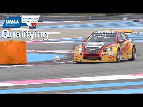 WTCC France top qualifying Coronel, with angry engineer's order