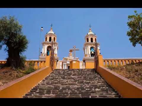 La Piramide Mas Grande Del Mundo Esta En Cholula Puebla Mexico