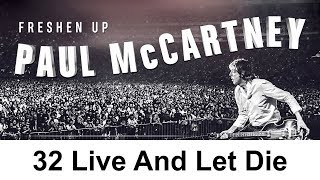 Freshen up | 32 paul mccartney - live and let die