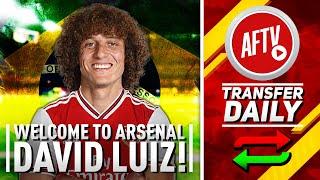 Welcome To Arsenal David Luiz! | Gunners Nick Chelsea Centre Back
