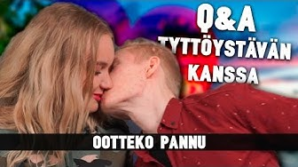 OOTTEKO PANNU | Q&A TYTTÖYSTÄVÄN KANSSA!