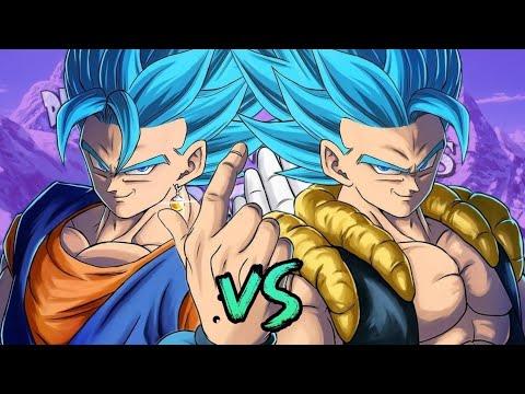 Download Gogeta vs Vegetto. Duelos Legendarios de Rap de la Historia ¡Echo Battles! | Zigred