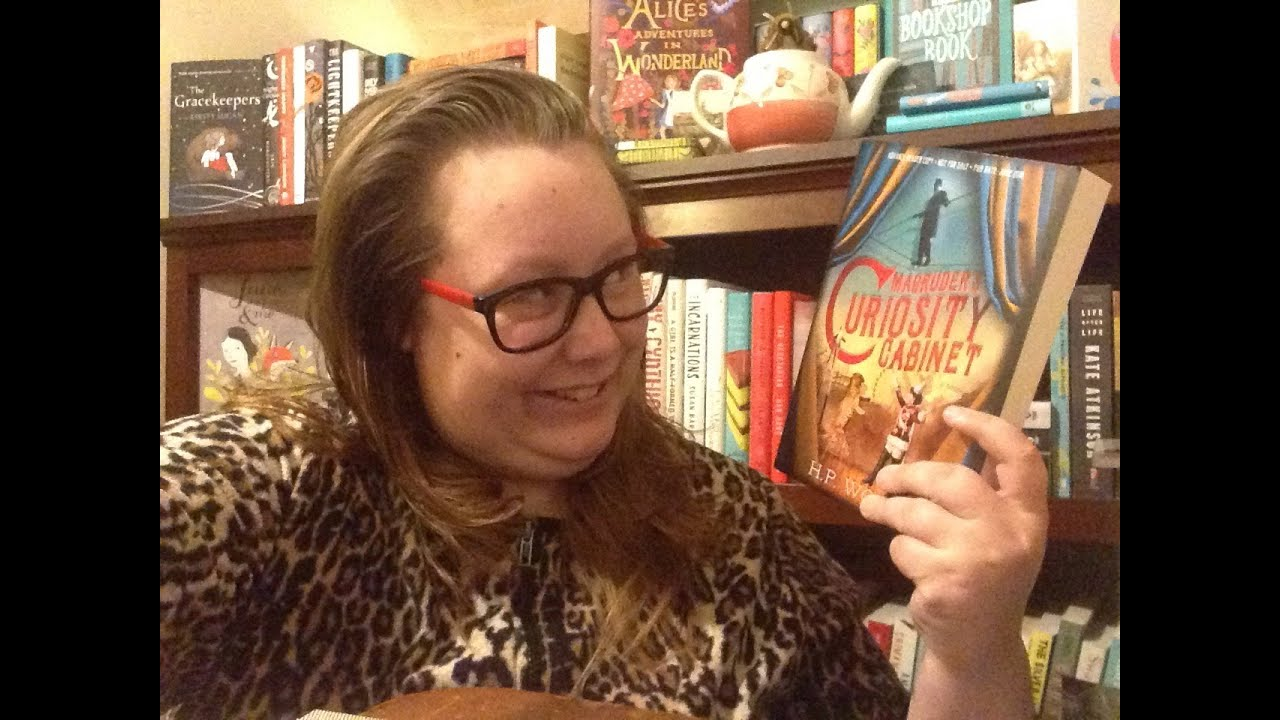 Magruder's Curiosity Cabinet || Book Review - YouTube