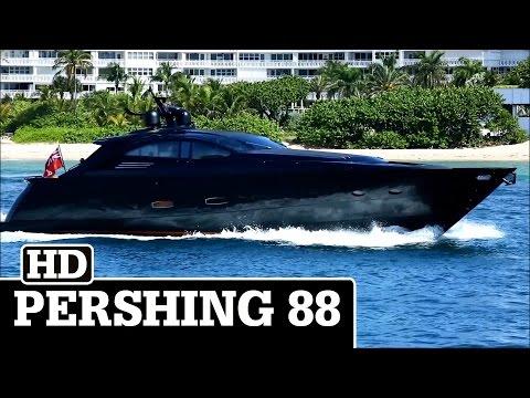 Pershing 88 in Black | XERXSEAS II