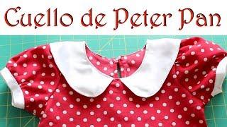 """""""Cómo hacer un Cuello de Peter Pan"""""""