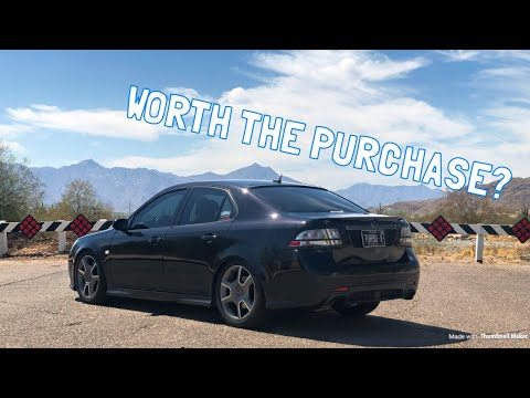 Saab 9-3 Turbo X 10,000 Mile Ownership Review!