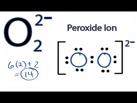 O2 2- Lewis Structure: How to Draw the Lewis Structure for  O2 2-