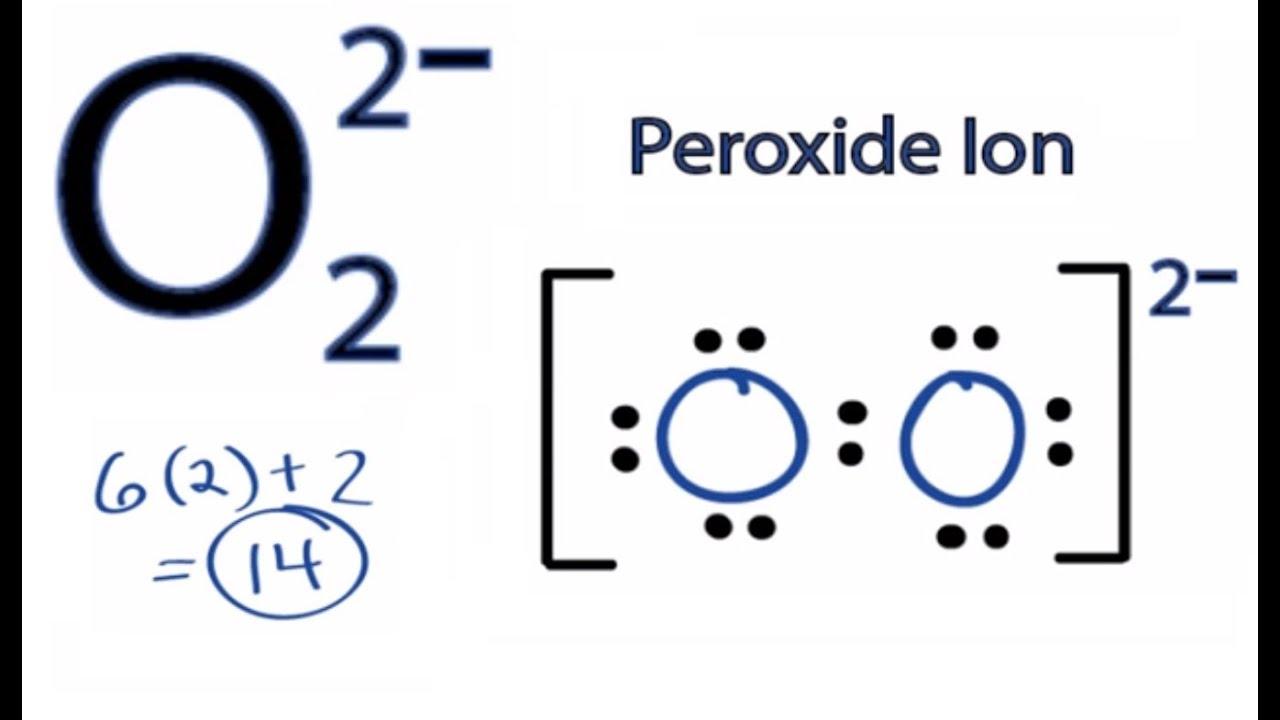 Lewis Dot Diagram For Oxygen Ion