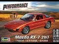 How to Build the Mazda RX 7 1:24 Scale Revell Model Kit #85-4429 Review