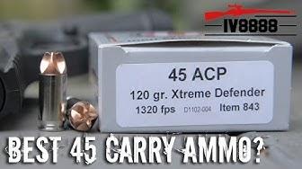 Underwood Ammo .45 ACP Xtreme Defender
