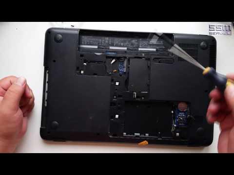 Как разобрать ноутбук HP Compaq