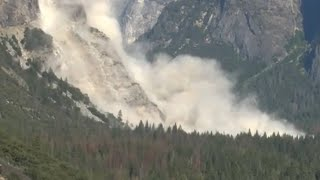 Second rockfall in Yosemite injures one person –video report